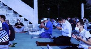 Fatih Sultan Mehmet Han'ın namazgahında Ayasofya için şükür duası