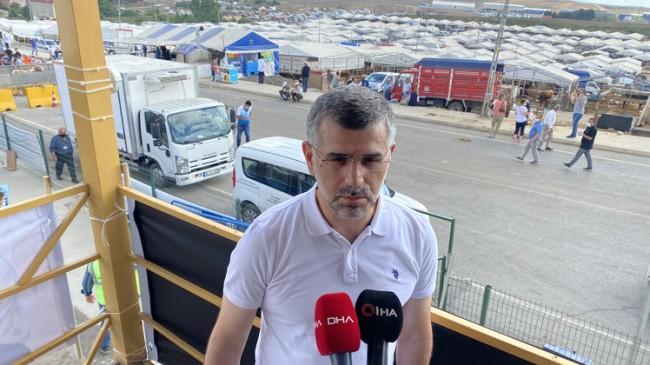 """Keskin, """"Sultanbeyli'de korona virüs tedbirli kurban kesimleri gerçekleştirildi"""""""