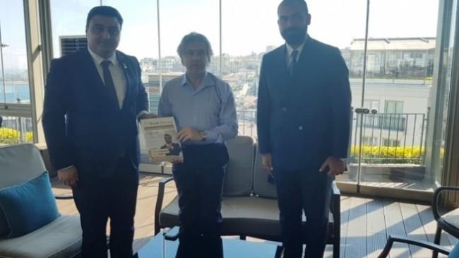 """Suat Sandalcı, """"'Her AVM'ye Bir Kütüphane' projesine tam destek veriyoruz"""""""