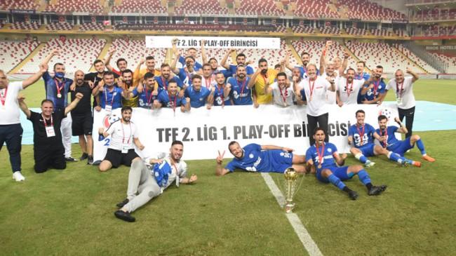 Tuzlaspor TFF 1. Lig'e yükseldi