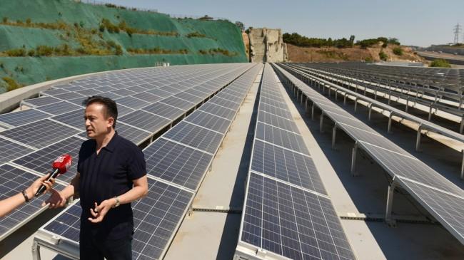 """Tuzla Belediyesi, """"Güneş Enerjisi Santralı"""" kurdu"""