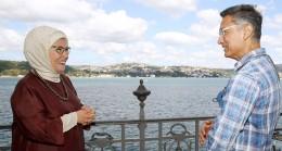 Emine Erdoğan, Hintli aktör Aamir Khan'ı kabul etti