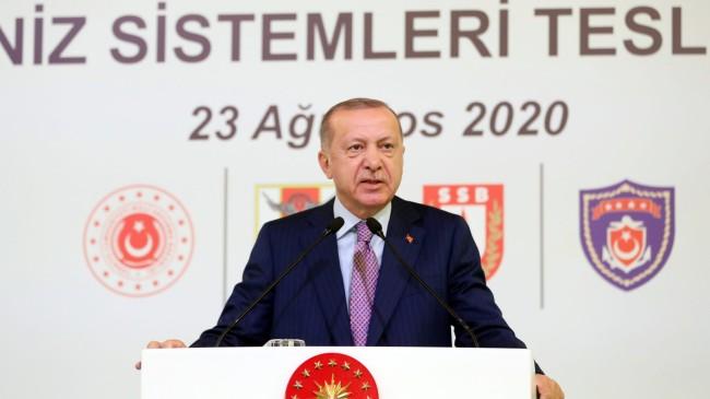 """Erdoğan, """"Milletimizin başı sağolsun"""""""
