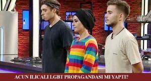 Acun Ilıcalı'dan başörtülü kadın üzerinden LGBT propagandası