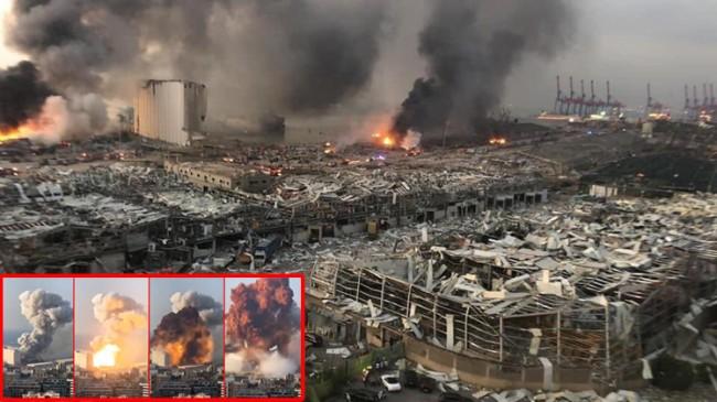 Beyrut'ta ölenlerin sayısı 100'u buldu