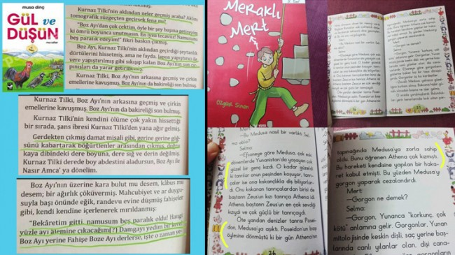 İlkokul 3. sınıf çocuk kitaplarında tecavüz konuları anlatılıyor (!)