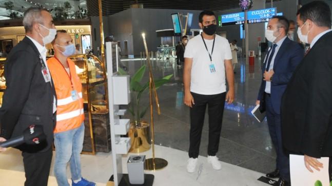 İstanbul Havalimanı'nda sıkı denetim