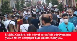 Koronavirüs İstiklal Caddesi'ne uğramıyor!