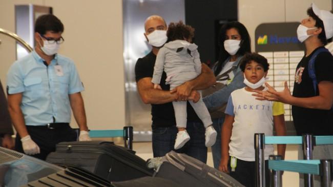 Lübnan Beyrut'taki patlamanın ardından ilk yolcular Türkiye'ye geldi