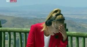 TRT spikeri Nilgün Balkaç, aşırı sıcaklardan baygınlık geçirdi