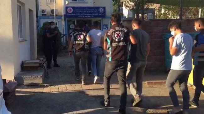 Ümraniye'de trafiği kapatanlara ceza