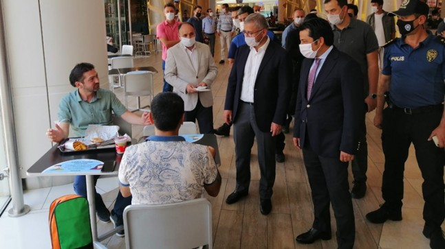 Üsküdar'da koronavirüs denetimi yapıldı