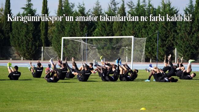Antrenman sahası yok ama Süper Lig'de!