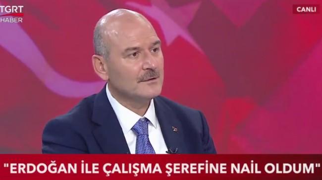 """Bakan Soylu, """"Anayasa Mahkemesi ile karşı karşıya kaldığımız mesele var"""""""