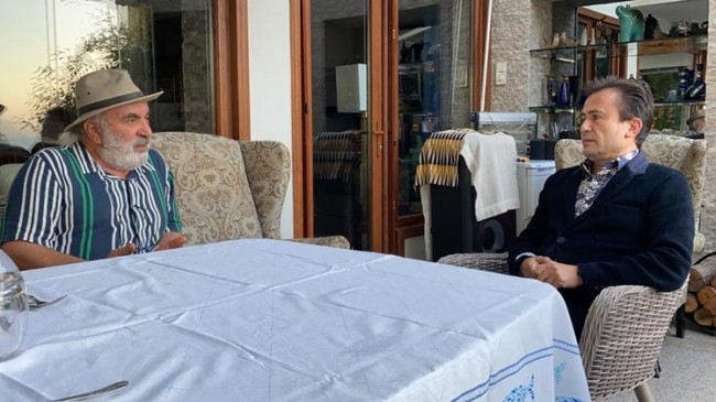 Başkan Yazıcı şarkıcı Halil Sezai tarafından darp edilen Hüseyin Meriç'i ziyaret etti