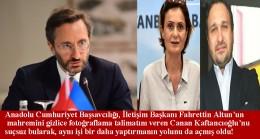 Canan Kaftancıoğlu'nun Fahrettin Altun'un mahremine yaptırdığı tacizler suç sayılmadı