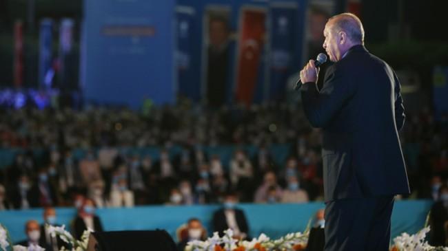 """Erdoğan, """"Hoş geldin torunum!"""""""