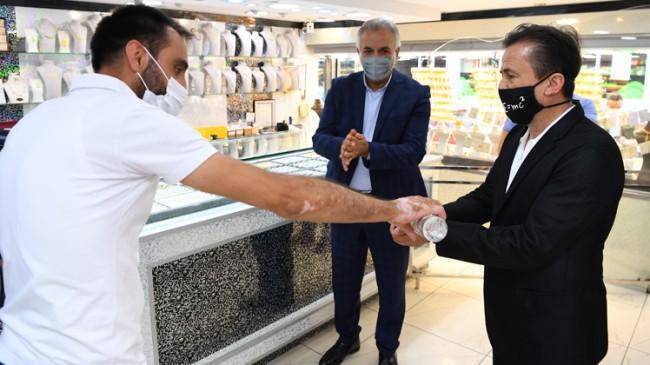 Başkan Yazıcı herkesi maske, mesafe ve temizlik kurallarına uymaya davet ediyor