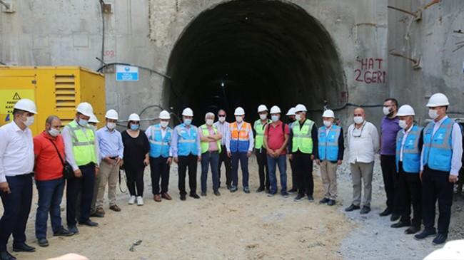İstanbul Gebze Metro hattı 2023 yılının sonunda bitirilmesi hedeflendi