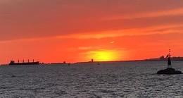 Kartpostallık günbatımı