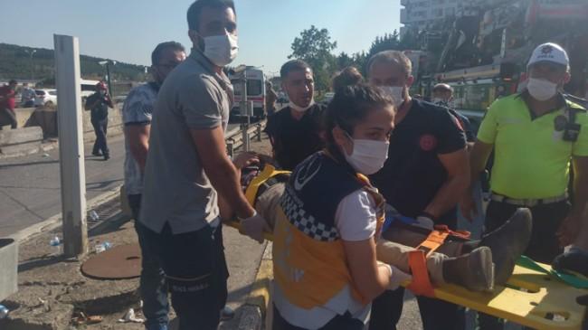 Kurtköy gişelerine dalan otobüs kazasında 24 yaralı var