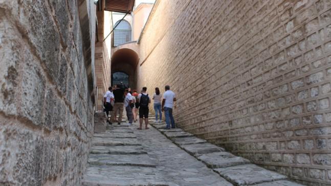 Osmanlı'nın gizli yolu ziyarete açıldı