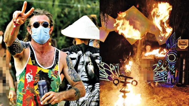 Sapık Şaman Festivali'nde hedef gençliği uyuşturucu ile zehirlemek ve yozlaştırmak!