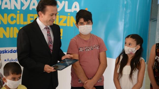 Tuzla'da bilgisayarı, tableti olmayan, online olmayan hiçbir ev kalmayacak