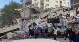 İzmir'deki depremde can kaybı var