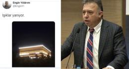 Anayasa Mahkemesi Üyesi Engin Yıldırım ışıkların yandığından bahsetti!