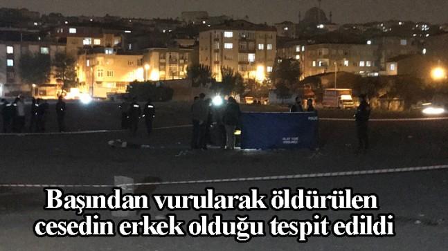 Bağcılar'da boş arazide cinayet işlendi