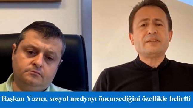 """Başkan Şadi Yazıcı, """"Ben hesap verebilir olmak zorundayım"""""""