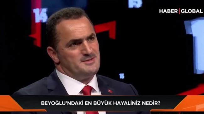 Beyoğlu Belediye Başkanı Haydar Ali Yıldız, en büyük hayalini açıkladı
