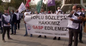 CHP'li Bakırköy Belediyesi işçi ve memurların kazanılmış haklarını vermiyor