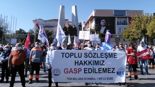 CHP'li Bakırköy Belediyesinde eylem