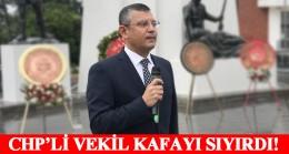 CHP'li Özgür Özel, İzmir Marşı çalınca yağmur durdu, her yer aydınlandı (!)