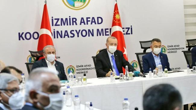 Cumhurbaşkanı Erdoğan, deprem bölgesinde önemli açıklamalar yaptı! » İstanbul Takipte İstanbul Yerel Haber