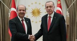 Cumhurbaşkanı Erdoğan Ersin Tatar'ı telefonla arayıp tebrik etti