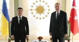 """Erdoğan: """"Ukrayna'nın egemenliğini Kırım dahil toprak bütünlüğünü hep destekledik"""