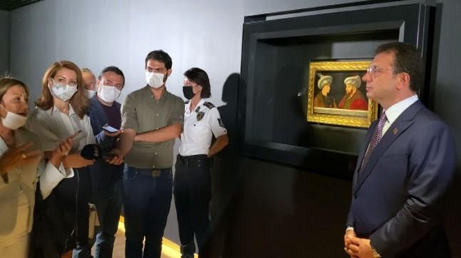 Ekrem İmamoğlu, işini gücünü bıraktı Gentile Bellini'nin diğer iki tablosunun peşine düştü!