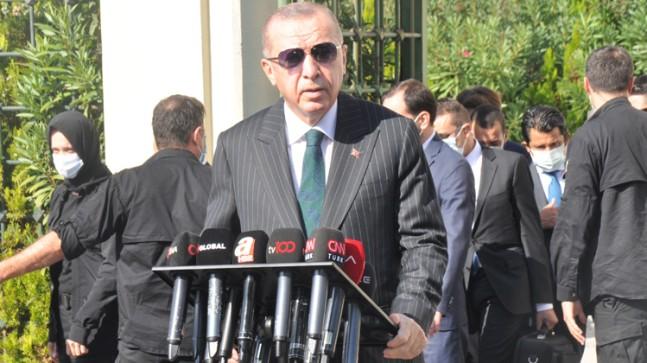 """Erdoğan, """"Amerika kesinlikle bizi bağlamaz"""""""