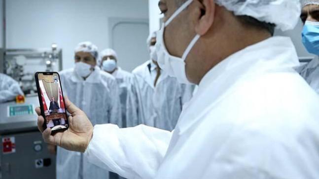 Erdoğan'a bakandan aşı müjdesi