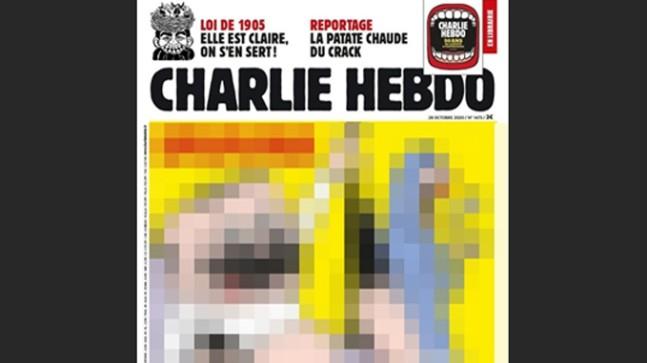 Fransız Charlie Hebdo dergisi alçaklık ve iğrençlikte sınır tanımıyor!