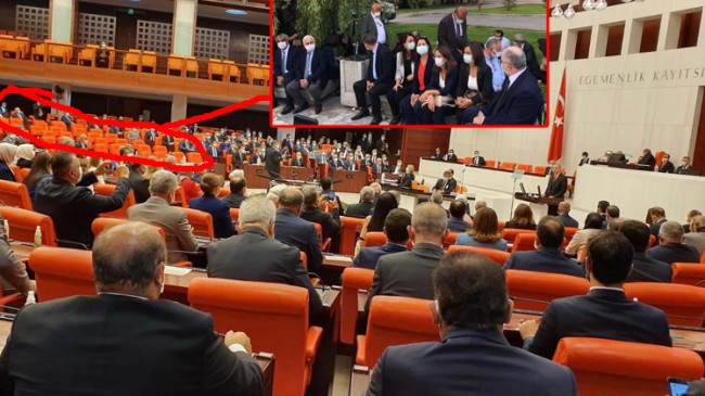HDP'li vekiller Kandil'den aldıkları emirle TBMM açılışına katılmadılar!