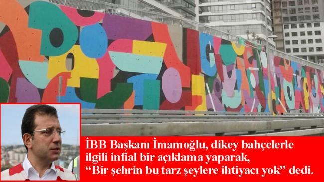 İBB'nin yaptığı sanatsal grafiti ve renklendirme çalışmalarıymış (!)