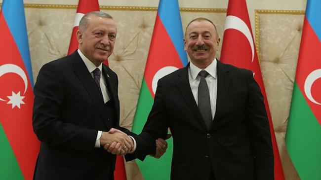 """İlham Aliyev, """"Recep Tayyip Erdoğan bir dünya lideridir"""""""