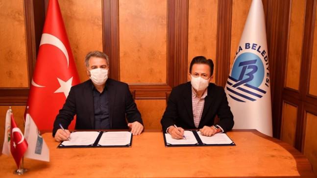 İmzalar Tuzla Belediyesi çalışanları için