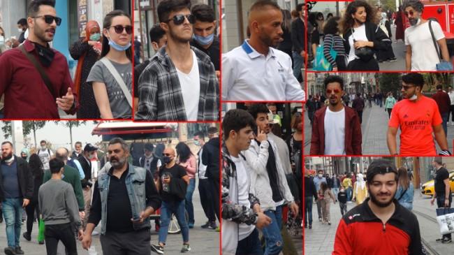 İstiklal Caddesi ve Taksim Meydanı'nda maskesiz gezen dangalak sürüsü!