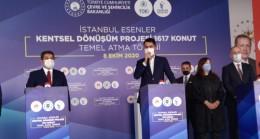 """Kurum, """"İstanbul'da acil dönüştürmemiz gereken 300 bin konut var"""""""