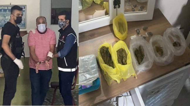 Narkotimler ile özel harekat polisleri birlikte uyuşturucu operasyonu yaptı